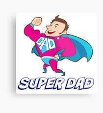 Superhero Dad Metal Print