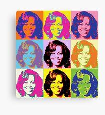Michele Obama FLOTUS  Canvas Print