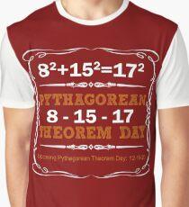 Pythagorean Triple Day 2017 8-15-17 Graphic T-Shirt