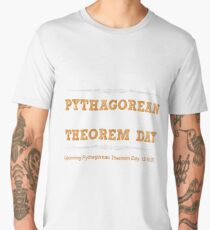 Pythagorean Triple Day 2017 8-15-17 Men's Premium T-Shirt