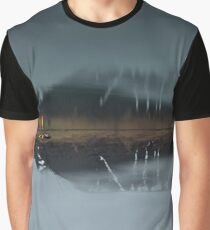 Dusk over Fjord Graphic T-Shirt