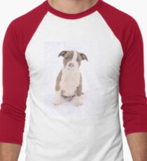 What Is On My Nose Mom? Men's Baseball ¾ T-Shirt