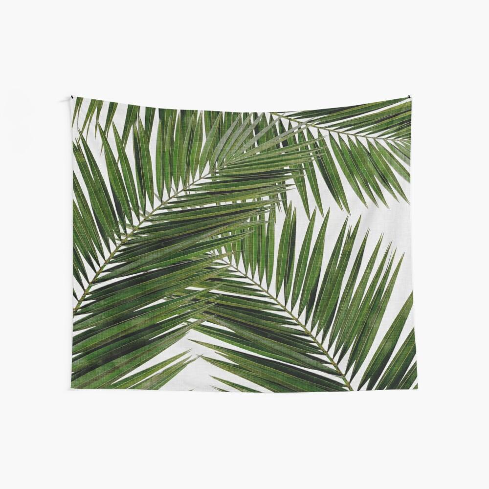 Palm Leaf Green II Wall Tapestry