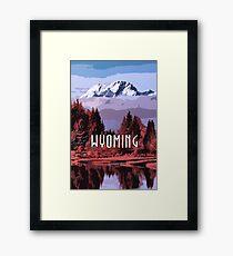 Wyoming Grand Teton National Park Framed Print
