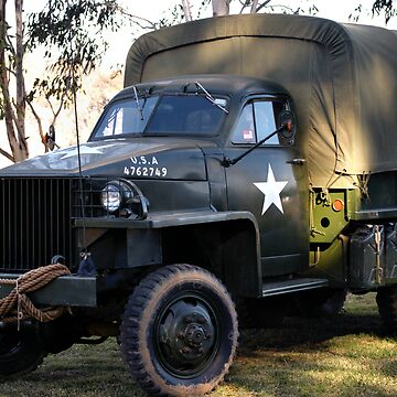 ARMY TRUCK by cmhall