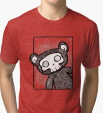 Hello There Skully Bear Tri-blend T-Shirt