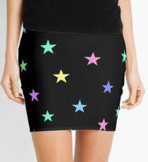 Multicolor Stars Mini Skirt