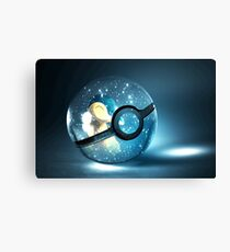 Pokeball - cyndaquil Canvas Print