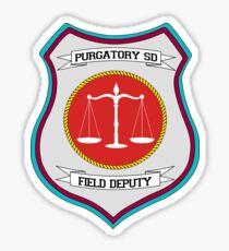 Purgatory Sheriff Department Field Deputy Sticker