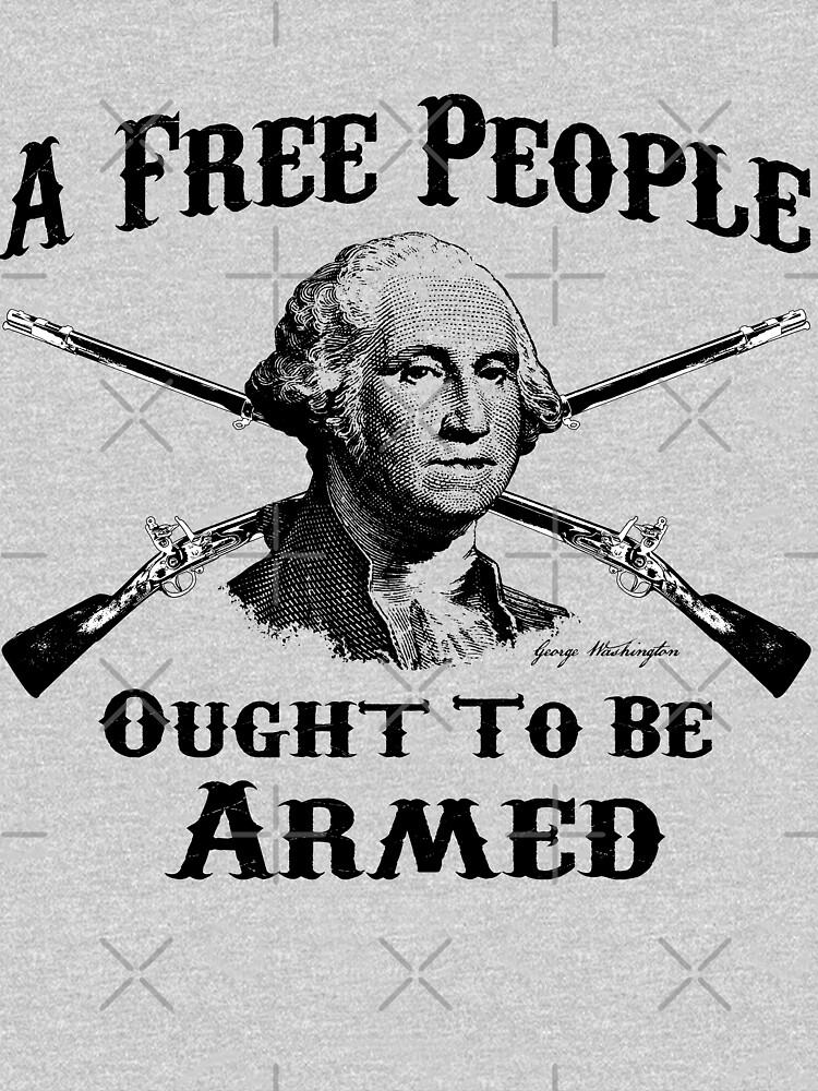 Washington-Zitat - ein freies Volk von AmericanVenom