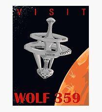 Visit Wolf 359 Photographic Print