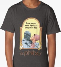 The Abominable Dr Phibes T-Shirt Long T-Shirt