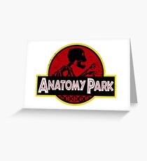 Anatomy Park Rick & Morty Greeting Card