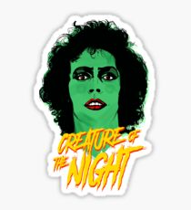 The Rocky Horror Picture Show - Creature of the Night Sticker