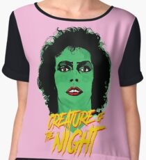 The Rocky Horror Picture Show - Creature of the Night Chiffon Top