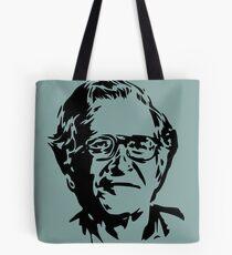 Noam Chomsky stencil Tote Bag