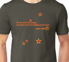 Wilde - From the gutter to the stars. Unisex T-Shirt