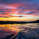 Warwick River Sunset by Amy Jackson