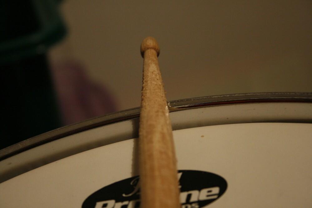 Drumstick wear by Shane Elliott