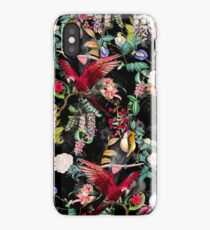 Floral and Birds IX iPhone Case/Skin