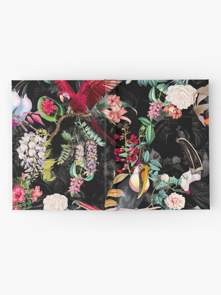 Alternate view of Floral and Birds IX Hardcover Journal