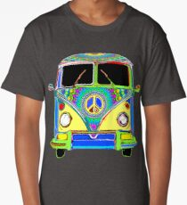 Peace Bus - Psychedelic Long T-Shirt