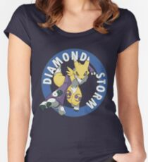 Diamond Storm Women's Fitted Scoop T-Shirt