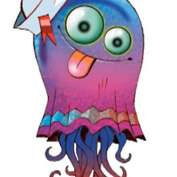 Superfast Jellyfish by jen701