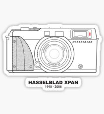 Vintage Film Photography: Hasselblad XPan Sticker