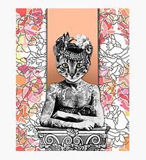 CAT WOMAN Photographic Print