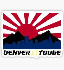 Denver Touge Logo Sticker