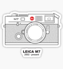 Vintage Film Photography: Leica M7 Sticker
