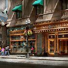 City - MA Boston - Meet me at the Omni Parker clock by Michael Savad