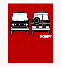 ROAM  Syncro 4x4 Dirtbag Motel Photographic Print