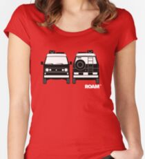 ROAM  Syncro 4x4 Dirtbag Motel Women's Fitted Scoop T-Shirt