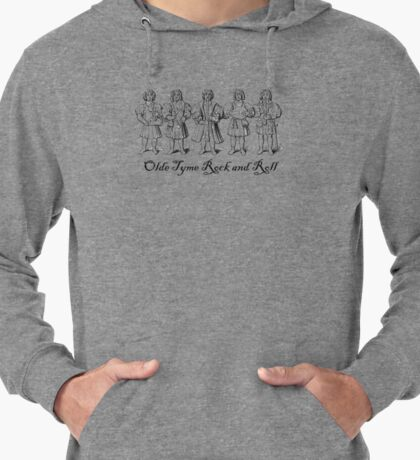 Olde Tyme Rock and Roll Lightweight Hoodie