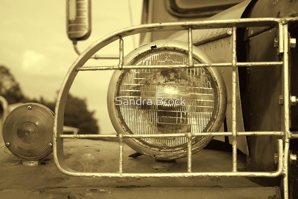 Old Headlight by Sandra Brock