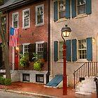 City - PA Philadelphia - American townhouse by Michael Savad
