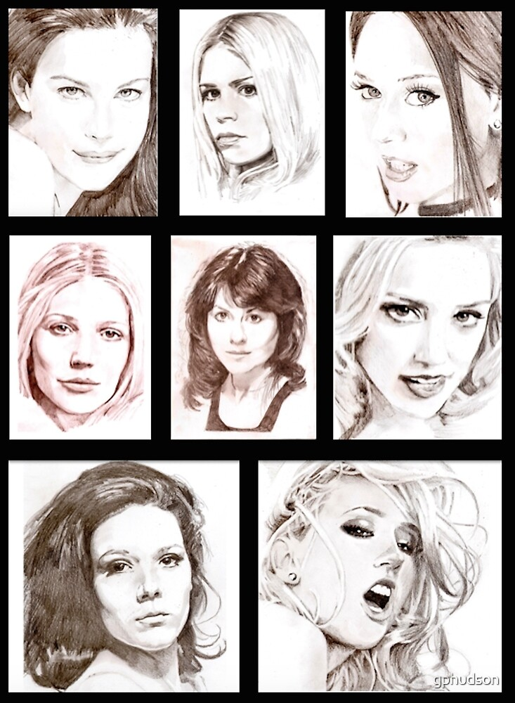 Female Faces by gphudson
