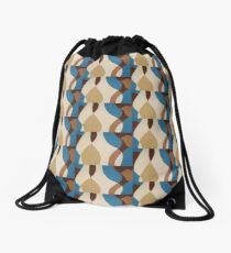 Aqua Flow Drawstring Bag