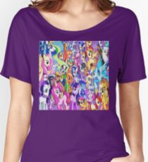 My little pony friends Women's Relaxed Fit T-Shirt