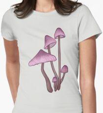 Mycena haematopsis Women's Fitted T-Shirt
