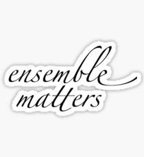 ensemble matters  Sticker