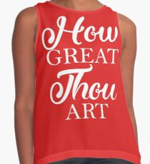 How Great Thou Art Contrast Tank