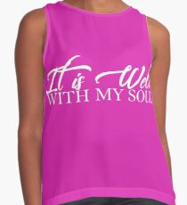 It is Well...With My Soul Contrast Tank