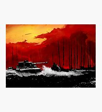 Battle of Kursk (Color Version) - by Nuclear Jackal Photographic Print