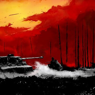 Battle of Kursk (Color Version) - by Nuclear Jackal by mhvis
