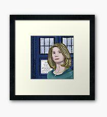 Doctor Whittaker Framed Print