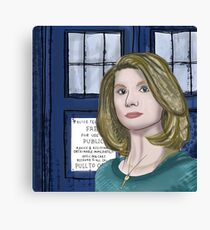 Doctor Whittaker Canvas Print