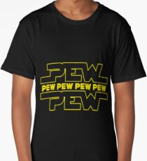Pew Pew Pew Art Design Long T-Shirt